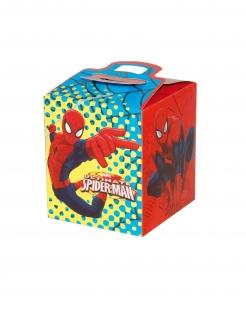 Spiderman™-Boxen viereckig 4 Stück bunt 9,5x9,5x11cm