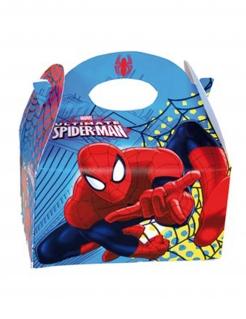 Spiderman™-Boxen 4 Stück bunt 16x10,5x16cm