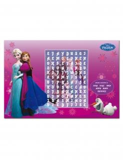 Frozen™-Tischset 6 Stück Deko pink 27x40cm
