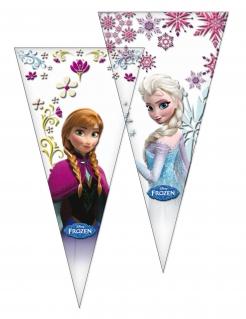 Frozen™-Geschenktüten Partydeko 6 Stück bunt 20x40cm
