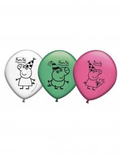 Peppa Wutz™-Luftballons Deko 8 Stück bunt 30cm