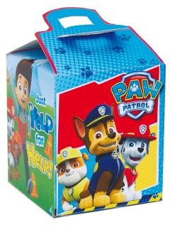 PAW Patrol™ Geschenkbox bunt 9,5 x 9,5 x 11 cm
