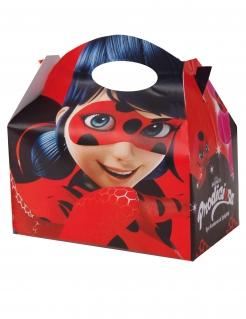 12 Ladybug™-Faltschachteln bunt 16x10,5x16cm