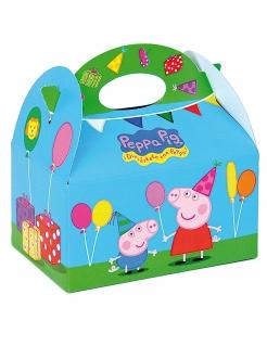 Peppa Wutz™-Box aus Karton Partydeko bunt 16x10,5x16cm