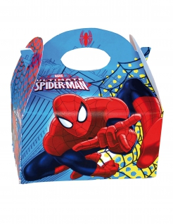 Spider-Man™-Geschenkebox bunt 16x10,5x16cm