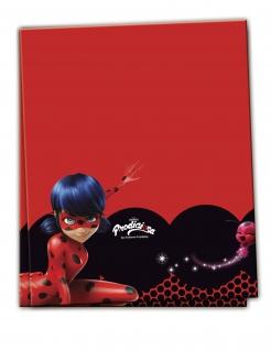 Kunststoff-Tischdecke Ladybug™ rot-schwarz 120x180cm