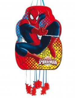 Spiderman™-Piñata für Kinder Partydeko rot-gelb 36x46cm