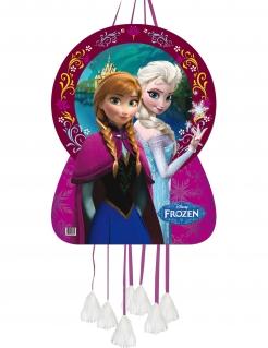 Frozen™-Piñata Anna und Elsa Partydeko bunt 46x65cm