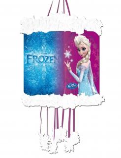 Frozen™-Piñata Elsa Partydeko blau-violett 20x30cm