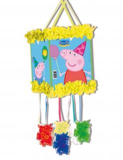 Piñata Peppa Wutz™ Partydeko bunt 20x30cm