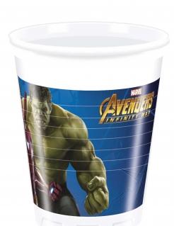 Avengers Infinity War™-Partybecher 8 Stück bunt 200ml