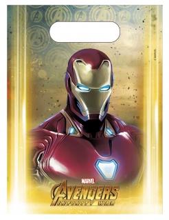 Avengers™-Geschenktüten Infinity War 6 Stück bunt 23x16,5cm