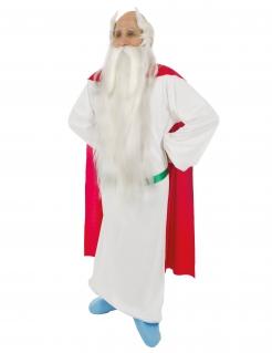 Miraculix™-Lizenzkostüm Druiden-Kostüm weiss-rot