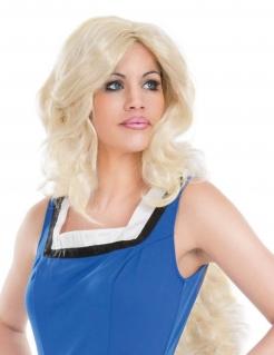 Falbala™-Damenperücke Lizenzartikel blond