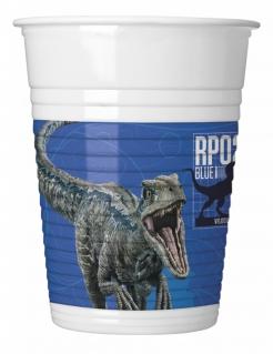 Trinbecher-Set Jurassic World 2™ 8 Stück bunt 200 ml