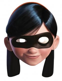 Violetta Parr-Maske Die Unglaublichen™-Lizenzartikel hautfarben-schwarz