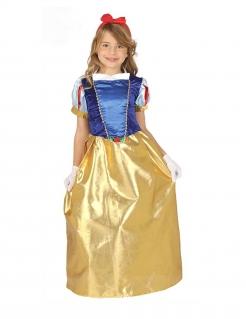 Prinzessinnenkostüm für Mädchen blau-gelb-rot