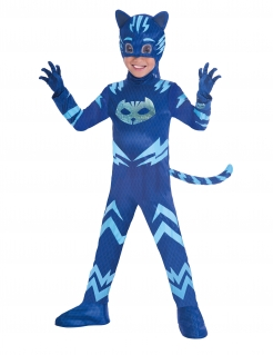 Connor™-Kostüm für Kinder PJ Masks™ Karneval blau