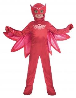Eulette-Kostüm PJ Masks™ Pyjamahelden für Kinder Karneval rot
