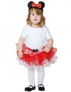 Minnie Maus™-Tutu für Kleinkinder Fasching rot
