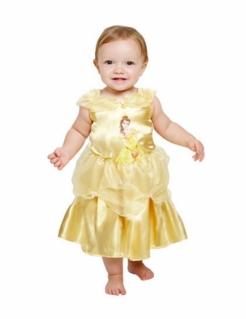 Belle™-Kostüm für Babys Fasching gelb