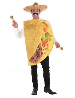 Tacos-Kostüm für Erwachsene bunt