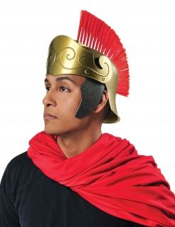 Römer-Helm Kostümaccessoire schwarz-rot-gold