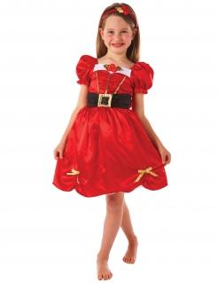 Weihnachtskostüm für Mädchen bunt