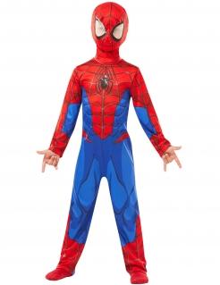 Spiderman™-Kostüm für Kinder Fasching rot-blau