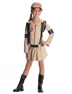 Ghostbuster™-Kostüm für Kinder mit Rucksack Halloween braun-schwarz