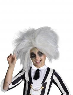 Beetlejuice™-Kinderperücke Kostüm-Accessoire grau