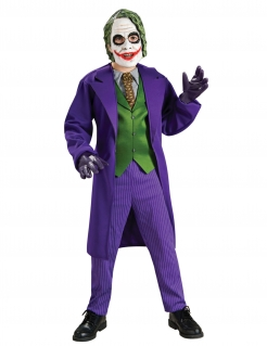 Joker™-Kostüm für Kinder The Dark Knight Halloween violett-grün