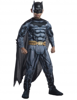 Batman™-Deluxekostüm für Kinder Fasching schwarz