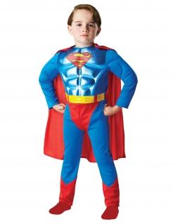 Superman™-Kostüm für Jungen Superhelden-Kostüm blau-rot-gelb