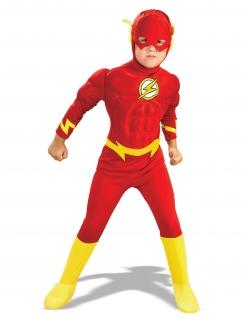 The Flash™-Kostüm für Jungen Faschingskostüm rot-gelb