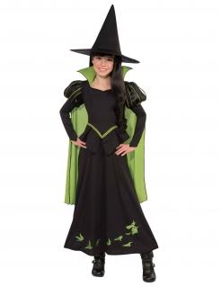 Böse Hexe des Westens-Kostüm Der Zauberer von Oz™ für Kinder Halloweenkostüm schwarz-grün