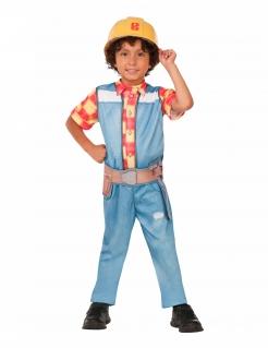 Bob der Baumeister™-Kostüm für Kinder Karneval blau-gelb-rot
