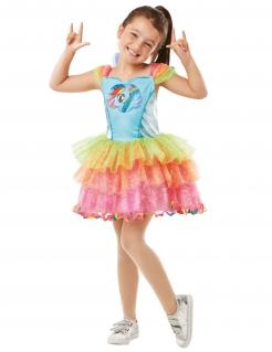 My Little Pony™-Kostüm für Mädchen Rainbow Dash Fasching bunt