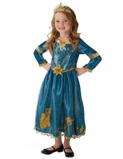 Merida™-Prinzessinkostüm Disney™ blau-goldfarben