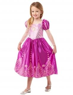 Rapunzel™-Lizenzkostüm für Mädchen rosa-goldfarben