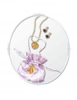 Rapunzel™-Accessoire-Set für Mädchen Prinzessin 3-teilig rosa