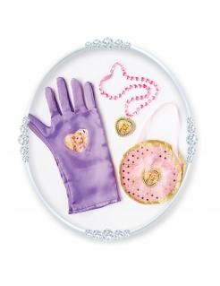 Rapunzel™-Accessoire-Set für Mädchen 3-teilig violett