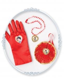 Schneewittchen™-Accessoire-Set für Mädchen 3-teilig rot