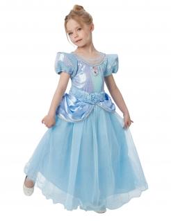 Cinderella™-Märchenkostüm für Kinder blau