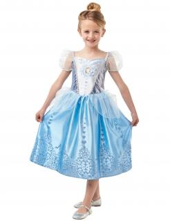 Cinderella™-Mädchenkostüm Disney™ blau-violett