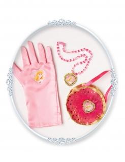 Prinzessin Aurora™ Accessoire-Set für Mädchen 3-teilig rosa
