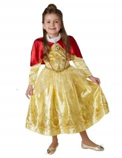 Belle™-Kostüm für Kinder Winterprinzessin gelb-rot