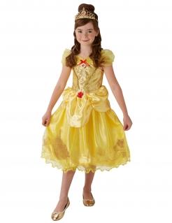 Belle™-Mädchenkostüm von Disney™ gelb-rot