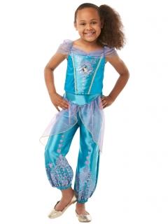Prinzessin Jasmin™-Kinderkostüm blau-lila