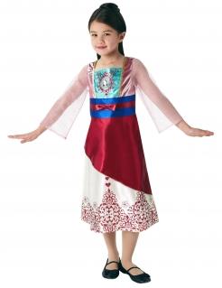 Mulan™-Prinzessinen-Kostüm für Kinder bunt